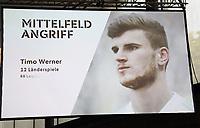 Timo Werner (RB Leipzig) ist für den WM Kader nominiert - 15.05.2018: Vorläufige WM-Kaderbekanntgabe, Deutsches Fußballmuseum Dortmund