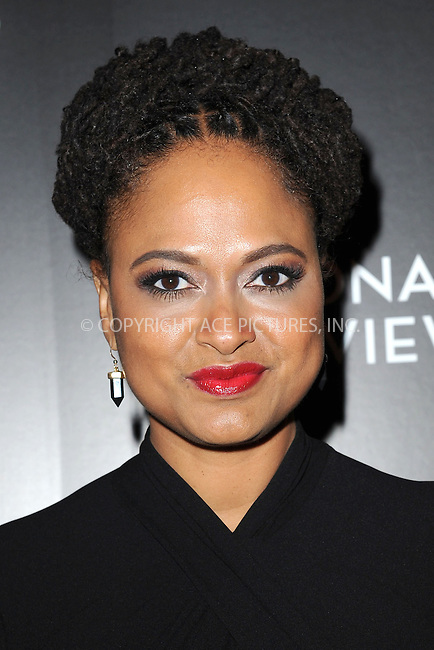 WWW.ACEPIXS.COM<br /> January 6, 2015 New York City<br /> <br /> Ava DuVernay attending the 2014 National Board of Review Gala at Cipriani 42nd Street on January 6, 2015 in New York City.<br /> <br /> Please byline: Kristin Callahan/AcePictures<br /> <br /> ACEPIXS.COM<br /> <br /> Tel: (212) 243 8787 or (646) 769 0430<br /> e-mail: info@acepixs.com<br /> web: http://www.acepixs.com