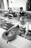 Hydrotherapy, City Hospital, Nottingham UK 1991