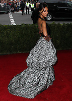 "NEW YORK CITY, NY, USA - MAY 05: Zoe Saldana at the ""Charles James: Beyond Fashion"" Costume Institute Gala held at the Metropolitan Museum of Art on May 5, 2014 in New York City, New York, United States. (Photo by Xavier Collin/Celebrity Monitor)"