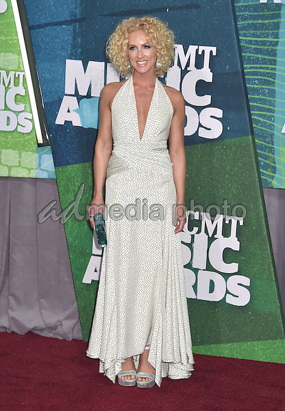 10 June 2015 - Nashville, Tennessee - Kimberly Schlapman, Little Big Town. 2015 CMT Music Awards held at Bridgestone Arena. Photo Credit: Laura Farr/AdMedia