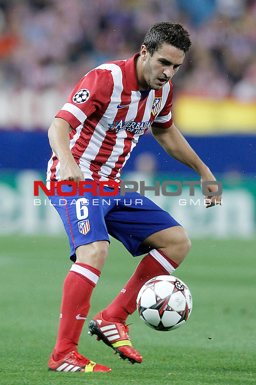 Atletico de Madrid's Koke during Champions League 2013/2014 match.September 18,2013. Foto © nph / Acero)