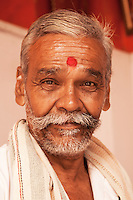Indian Handlebar Moustache - Indian men are famous for their moustaches, and nowhere else in India is this cultivated more than in Rajasthan, where it is almost raised to an art form.