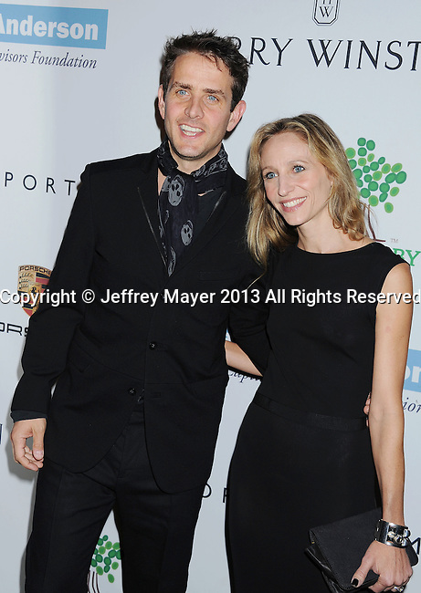 CULVER CITY, CA- NOVEMBER 09: Singer Joey McIntyre; Barrett Williams arrive at the 2nd Annual Baby2Baby Gala at The Book Bindery on November 9, 2013 in Culver City, California.