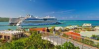EC- Amber Cove Pools, Shops & Vistas port call for HAL Koningsdam S. Caribbean Cruise, Dominican