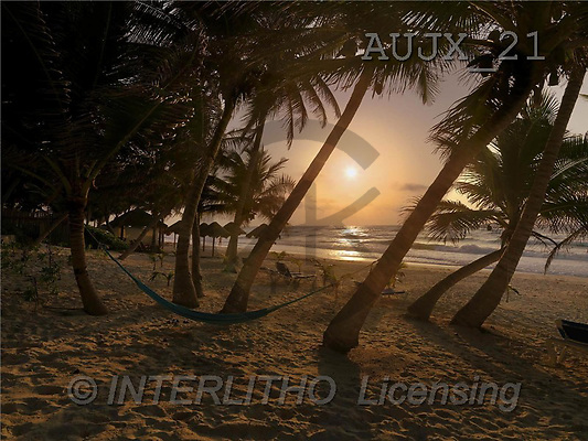 Dr. Xiong, LANDSCAPES, photos, Beach, Yucatan, Mexico(AUJX21,#L#)