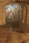 Israel, Jerusalem Old City, the Lithostrotos (Roman Pavement) under the Notre Dame de Sion Ecce Homo Convent