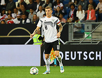 Toni Kroos (Deutschland Germany) - 09.09.2018: Deutschland vs. Peru, Wirsol Arena Sinsheim, Freundschaftsspiel DISCLAIMER: DFB regulations prohibit any use of photographs as image sequences and/or quasi-video.