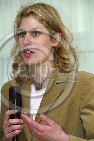 Belgium---Brussels---Hotel Stanhope---                22.01.2004.Silvana KOCH-MEHRIN, the .top national candidate for the German FDP (Liberal Party) at the next European Parliament elections          ..PHOTO: EUP-IMAGES / ANNA-MARIA ROMANELLI