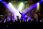 © Joel Goodman - 07973 332324 . 11/04/2015 . Manchester , UK . Black Grape perform a reunion gig in support of Bez's Reality Party . Photo credit : Joel Goodman