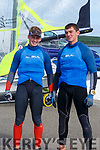 Tralee Bay Maritime Centre along with Tralee Bay Sailing Club are hosting some of the best sailors in the country in a spectacular sailing competition. Pictured Cian Byrne and Patrick Crosby bronze medalist in the junior european  championships