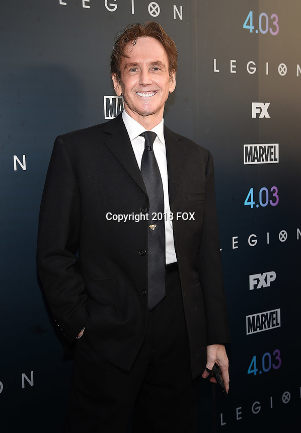 "LOS ANGELES, CA - APRIL 2: Co-Creator of Marvel Comic Character ""Legion"" Bill Sienkiewicz attends the season two premiere of FX's ""Legion"" at the DGA Theater on April 2, 2018 in Los Angeles, California. (Photo by Frank Micelotta/FX/PictureGroup)"