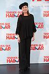 Actress Veronica Forque poses during `Tenemos que hablar´ film presentation in Madrid, Spain. February 24, 2016. (ALTERPHOTOS/Victor Blanco)