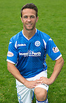 St Johnstone FC Photocall, 2015-16 Season....03.08.15<br /> Chris Millar<br /> Picture by Graeme Hart.<br /> Copyright Perthshire Picture Agency<br /> Tel: 01738 623350  Mobile: 07990 594431