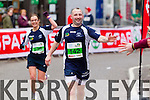 David Hughes, 142 and Ciara OCallaghan, 239 who took part in the 2015 Kerry's Eye Tralee International Marathon Tralee on Sunday.