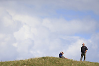 watching play during the 1st round of the East of Ireland championship, Co Louth Golf Club, Baltray, Co Louth, Ireland. 02/06/2017<br /> Picture: Golffile | Fran Caffrey<br /> <br /> <br /> All photo usage must carry mandatory copyright credit (&copy; Golffile | Fran Caffrey)