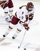 Danielle Welch (Boston College - 17) - The Providence College Friars and Boston College Eagles tied at 1 on BC's senior night on Saturday, February 21, 2009, at Conte Forum in Chestnut Hill, Massachusetts.