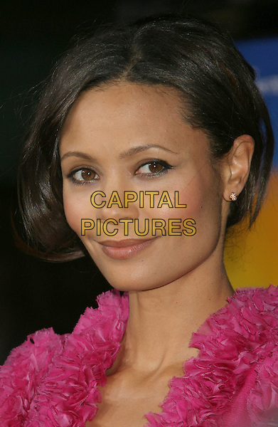 "THANDIE NEWTON .""Run Fat Boy Run"" Los Angeles Premiere held at the ArcLight Cinemas, Hollywood, California , USA, .24 March 2008..portrait headshot .CAP/ADM/RE.©Russ Elliot/Admedia/Capital PIctures"