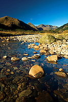 The Saddle and the Forcan Ridge above the River Shiel and Glen Shiel, Kintail, Skye & Lochalsh, Highland