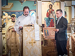 Holy Saturday Liturgy, St. Sava Serbian Orthodox Church, midnight in Jackson, Calif.