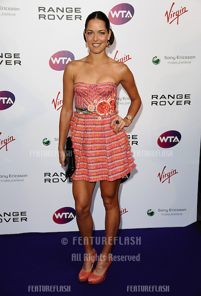 Ana Ivanovic arriving for the Pre Wimbledon Party, Kensington Roof Gardens, London. 16/07/2011  Picture by: Alexandra Glen / Featureflash