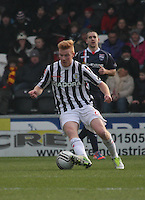 Conor Newton in the St Mirren v Ross County Clydesdale Bank Scottish Premier League match played at St Mirren Park, Paisley on 19.1.13.