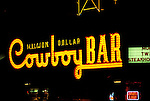 WY: Million Dollar Cowboy Bar in Jackson Hole near Grand Teton National Park, Wyoming .Photo Copyright: Lee Foster, lee@fostertravel.com, www.fostertravel.com, (510) 549-2202.Image: wygran207