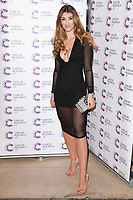 Amy Willerton<br /> arriving at James Ingham's Jog On To Cancer, in aid of Cancer Research UK at The Roof Gardens in Kensington, London. <br /> <br /> <br /> ©Ash Knotek  D3248  12/04/2017