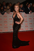 Jorgie Porter attending the National Television Awards 2018 at The O2 Arena on January 23, 2018 in London, England. <br /> CAP/Phil Loftus<br /> &copy;Phil Loftus/Capital Pictures