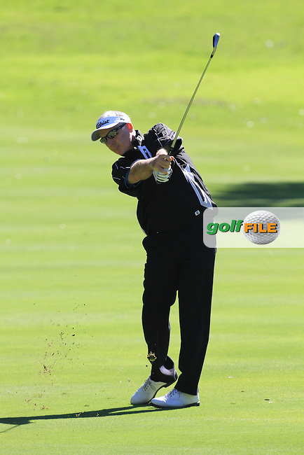 Philip Price (WAL) during the 2nd day at the  Andalucía Masters at Club de Golf Valderrama, Sotogrande, Spain. .Picture Fran Caffrey www.golffile.ie