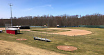 WOLCOTT CT. - 18 March 2020-031820SV11-No baseball being played on the baseball field at Wolcott High School in Wolcott Wednesday.<br /> Steven Valenti Republican-American