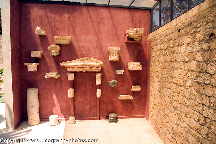 Archaeological museum, Rhodes, Greece