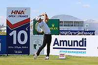Soomin Lee (KOR) on the 10th during Round 1 of the HNA Open De France at Le Golf National in Saint-Quentin-En-Yvelines, Paris, France on Thursday 28th June 2018.<br /> Picture:  Thos Caffrey | Golffile