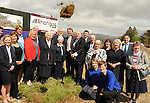 09-05-2014:  Minister for Education and Skills Ruairi Quinn T.D. performed the formal sod turning ceremony to mark the beginning of the construction phase for a new school for  Presentation Secondary School, Milltown, Co. Kerry on Friday. Included are Cormac Bonner, Principal,  Presentation Secondary School, Milltown, Kerry Harkin, Deputy Principal, Deputy Arthur Spring TD, Deputy Brendan Griffin TD, Senators Marie Moloney and Paul Coghlan and Cllr Johnny Healy Rae.,Sr Marie Wall, Sr Eucharia, Sr Columbanus, Brother John , Anne Kelleher, Miriam Ryan and Mary Costello,  Conor Bradley, Dave Flynn, Engineer (JJ Rhatigan & Co.), Sarah Osterloh and Ronan O'Shea. Picture: Eamonn Keogh (MacMonagle, Killarney)