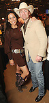 Mandi and Marc Krasney at the Cattle Baron's Ball at the George Ranch Saturday April 24,2010.. (Dave Rossman Photo)