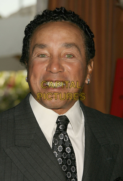 "SMOKEY ROBINSON.Smokey Robinson Foundation's Join Us and ""Give Back"" Gala held at The Beverly Hills Hotel, Beverly Hills, California, USA..April 20th, 2008.headshot portrait .CAP/ADM/RE.©Russ Elliot/AdMedia/Capital Pictures."