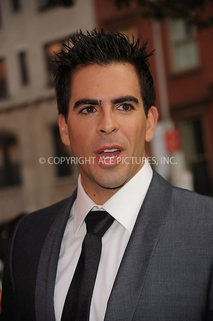 WWW.ACEPIXS.COM . . . . . ....August 17 2009, New York City....Actor Eli Roth arriving at The Cinema Society & Hugo Boss screening of 'Inglourious Basterds' at the SVA Theater on August 17, 2009 in New York City.....Please byline: KRISTIN CALLAHAN - ACEPIXS.COM.. . . . . . ..Ace Pictures, Inc:  ..tel: (212) 243 8787 or (646) 769 0430..e-mail: info@acepixs.com..web: http://www.acepixs.com