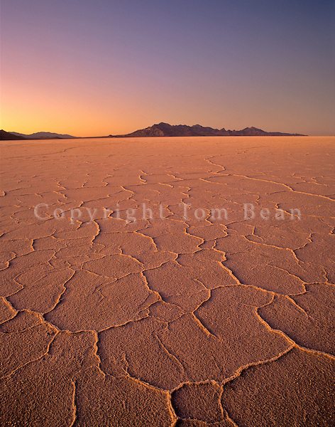 Bonneville Salt Flats at sunset, Utah, AGPix_0018