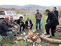 Iraq 2015 <br /> A picnic of Nowruz in wartime near Duhok   <br /> Irak 2015 <br /> Un pique-nique de Nowruz en temps de guerre a cote de Dohok