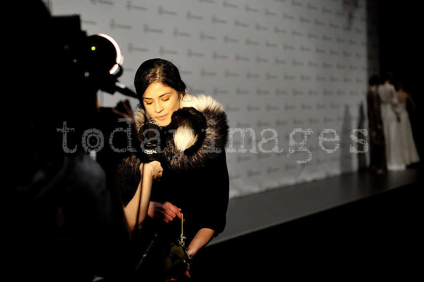 Juanjo Oliva in Mercedes-Benz Fashion Week Madrid 2013