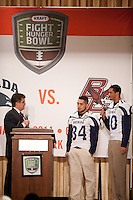 San Francisco, California - January 7, 2010: Kraft Fight Hunger Bowl Luncheon honoring Nevada and Boston College, in San Francisco, California.