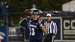 Nevada quarterback Cristian Solano (13 ) throws against Hawaii in the second half of an NCAA college football game in Reno, Nev., Saturday, Sept. 28, 2019. (AP Photo/Tom R. Smedes)