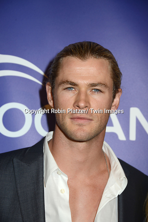 Chris Hemsworth attends the Inaugural Oceana Ball on April 8, 2013 at Christie's in New York City.