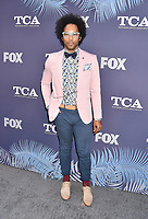 WEST HOLLYWOOD, CA - AUGUST 02: Jonathan Fernandez arrives at the FOX Summer TCA 2018 All-Star Party at Soho House on August 2, 2018 in West Hollywood, California.<br /> CAP/ROT/TM<br /> &copy;TM/ROT/Capital Pictures