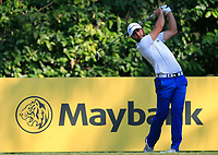 Adrian Otaegui (ESP) on the 8th tee during Round 1 of the Maybank Championship at the Saujana Golf and Country Club in Kuala Lumpur on Thursday 1st February 2018.<br /> Picture:  Thos Caffrey / www.golffile.ie<br /> <br /> All photo usage must carry mandatory copyright credit (© Golffile | Thos Caffrey)
