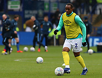 Blackburn Rovers' Ryan Nyambe during the pre-match warm-up <br /> <br /> Photographer David Shipman/CameraSport<br /> <br /> The EFL Sky Bet Championship - Sheffield Wednesday v Blackburn Rovers - Saturday 16th March 2019 - Hillsborough - Sheffield<br /> <br /> World Copyright &copy; 2019 CameraSport. All rights reserved. 43 Linden Ave. Countesthorpe. Leicester. England. LE8 5PG - Tel: +44 (0) 116 277 4147 - admin@camerasport.com - www.camerasport.com