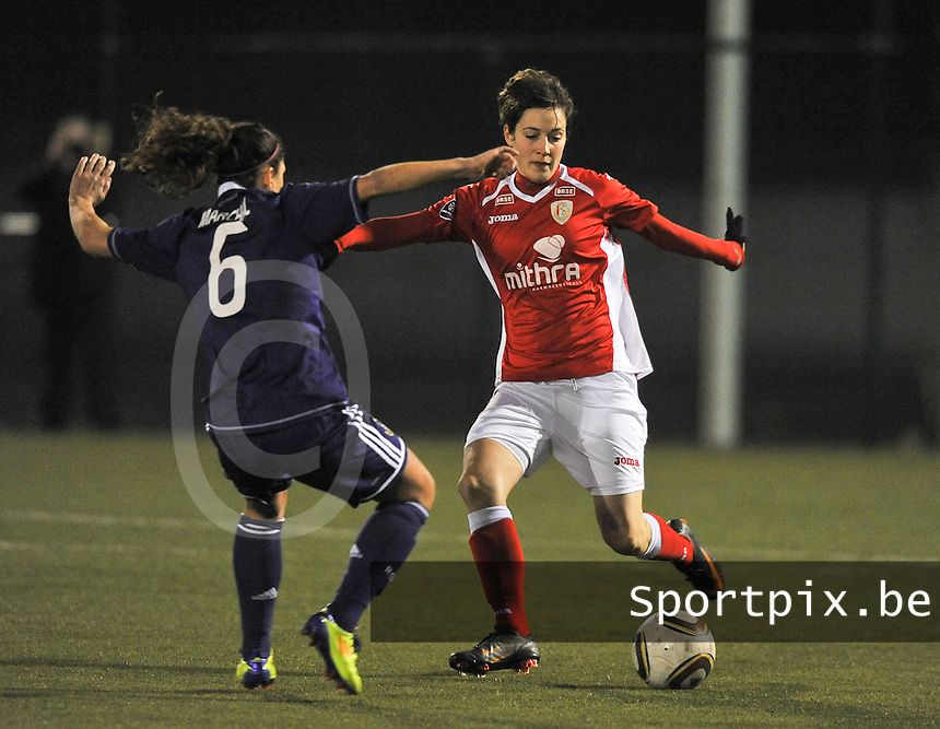 RSC Anderlecht - Standard Femina : Imke Courtois.foto DAVID CATRY / Vrouwenteam.be