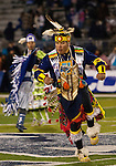 November 10, 2012: Native Nevadains perform before the Fresno State Bulldogs against the Nevada Wolf Pack NCAA football game played at Mackay Stadium on Saturday night in Reno, Nevada.