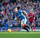 9th September 2017, Ibrox Park, Glasgow, Scotland; Scottish Premier League football, Rangers versus Dundee; Rangers' Graham Dorrans