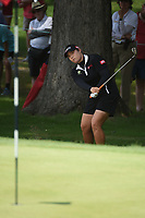 Ariya Jutanugarn (THA) looks over her chip shot on 2 during round 4 of the U.S. Women's Open Championship, Shoal Creek Country Club, at Birmingham, Alabama, USA. 6/3/2018.<br /> Picture: Golffile | Ken Murray<br /> <br /> All photo usage must carry mandatory copyright credit (&copy; Golffile | Ken Murray)